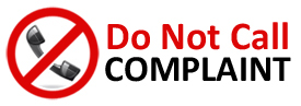 Do Not Call Complaint